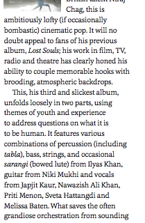 Mud Doll review by Songlines Magazine